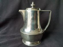 White Star Line Silverplated Chocolate Pot